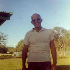 Dad near Barber's Point, 1962