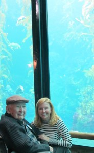 Dad and me at the Monterey Aquarium 2010