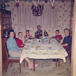 Christmas dinner 1959