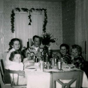 christmasdinner1953