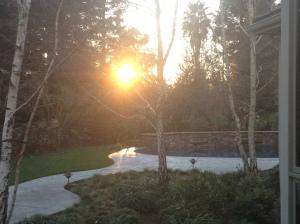 sunset Jan. 12