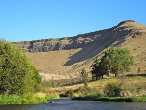 The Deschutes near Warm Springs OR