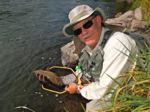 Big trout on the Deschutes