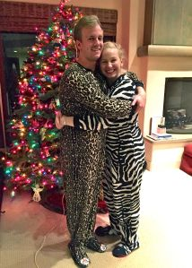 Animal onesie hugs