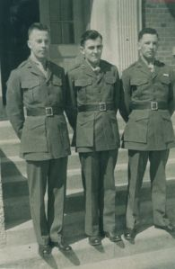 Meade Whitaker, Harry Guinivan and Henry S. Campbell, USMC 5th R.O.C.