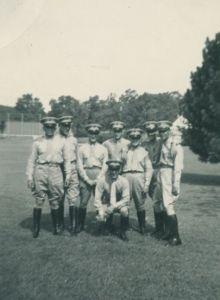Henry S. Campbell, Robert A. Campbell, Joseph Anastasio, USMC 5th R.O.C.