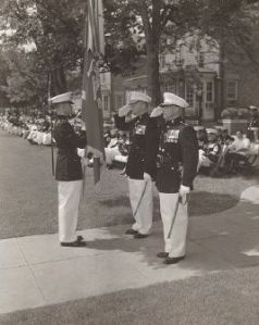 marine barracks change of command 1958