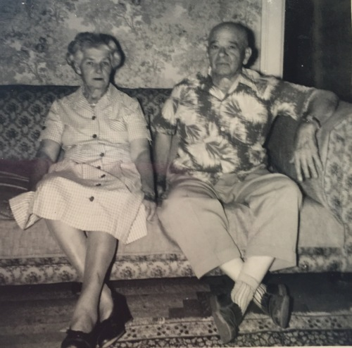 The unhappy couple in 1953