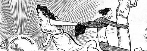 Editorial cartoon credit: washingtonhistoryonline.org