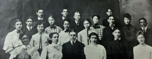 1905 Central School, Yakima, WA, senior class